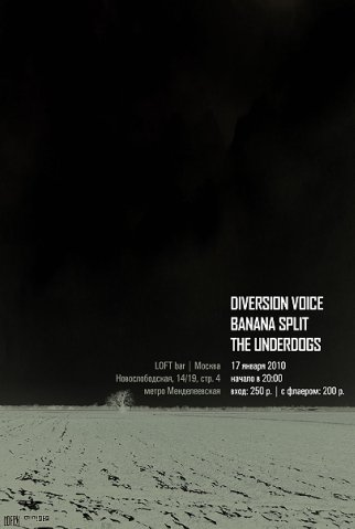 Diversion Voice in Loft bar